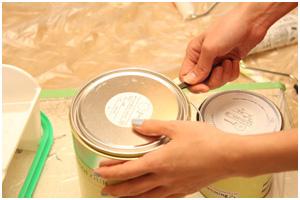 最新塗料の取扱い
