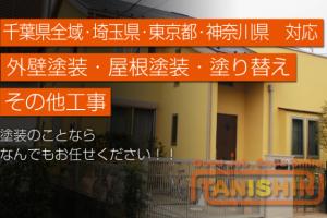 塗装工事のプロフェッショナル TANISHIN(タニシン) まで!